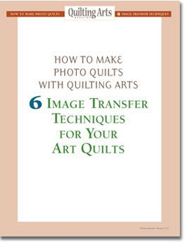 Free eBook on how to make photo quilts using six different techniques.