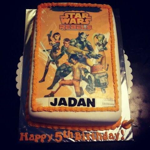Star Wars Rebels Cake Images : 17 Best images about ALL CAKES on Pinterest Art cakes ...