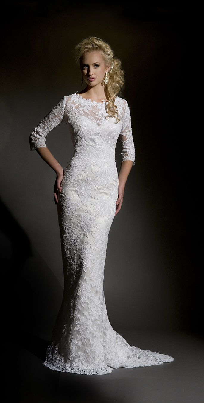 15 best Wedding Gowns images on Pinterest | Homecoming dresses ...