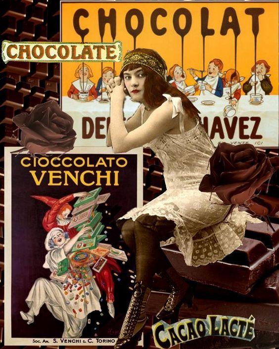 Vintage Italian Posters ~ #illustrator #Italian #vintage #posters ~ Vintage chocolate Ads: