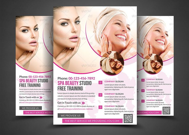 Spa Beauty-Print Templates by AfzaalGraphics on @creativemarket