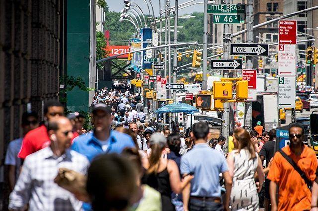 Busy City Chaos Ny Newyork Nyc Newyorkcity People