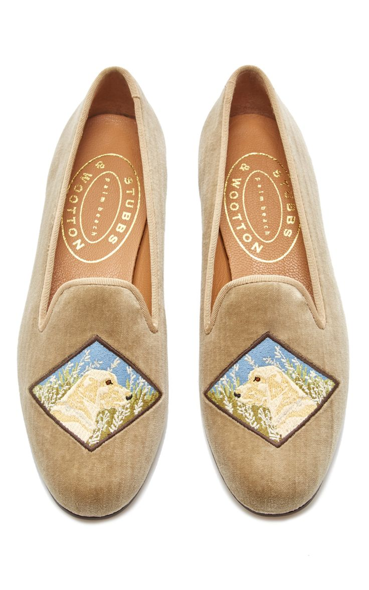 Lab Gold Slipper by STUBBS & WOOTTON for Preorder on Moda Operandi