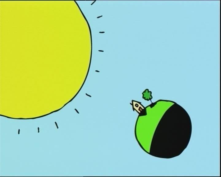 Schooltv: Dag en nacht - Waarom is het overdag licht en 's nachts donker? - De zon zorgt voor het licht, maar hoe zit dat 's nachts? zon - dag - nacht - licht - donker - aarde - heelal