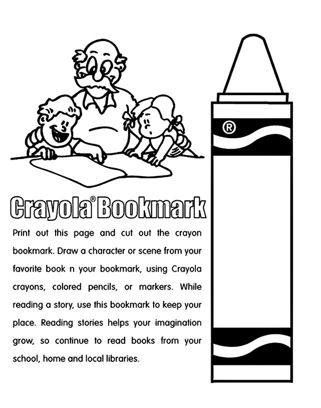 crayon coloring 2gif 641815 pixels - Crayon Colouring Pages