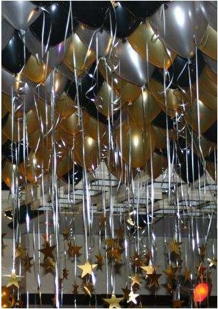Tu fiesta o evento con decoracion de globos metalicos, un toque muy original.