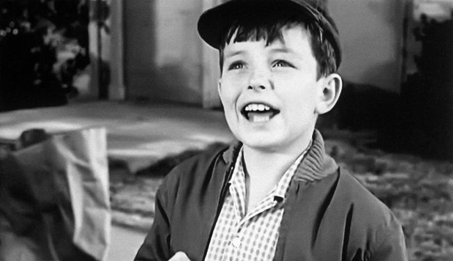 Famous Child Actor 1957 Jerry Mathers in Leave it to Beaver Child star