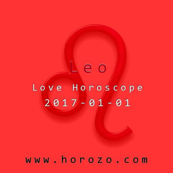 Leo Love horoscope for 2017-01-01: Don't be surprised to find yourself in the middle of a romantic so-and-so-said-this-to-so-and-so tangle today. Even if you know the truth, stay out of it and avoid adding grist to the rumor mill. Who's the trustworthy one now?.leo