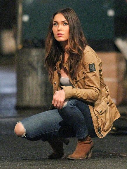 Star Tracks: Monday, July 13, 2015 | TURTLE TIME! | Megan Fox gets ready for action while filming Teenage Mutant Ninja Turtles 2 on Thursday in N.Y.C.