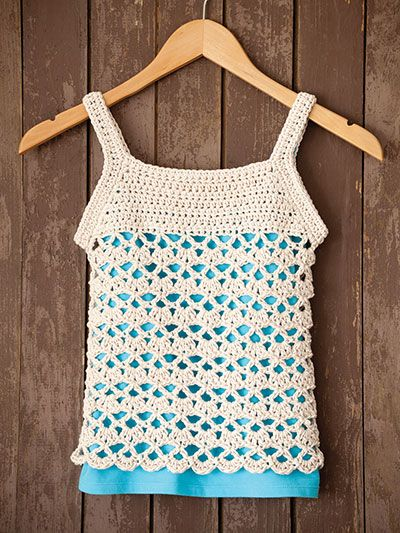 Child Crochet Tenacious Tee