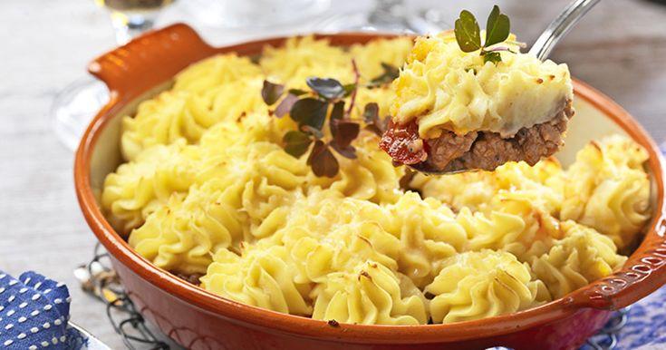 Shepherd's pie – krämig köttfärsgratäng med potatismos