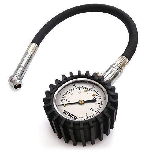 Oferta: 13.95€ Dto: -51%. Comprar Ofertas de TireTek Flexi-Pro - Manómetro para neumáticos de coche y motocicleta (4bar) barato. ¡Mira las ofertas!