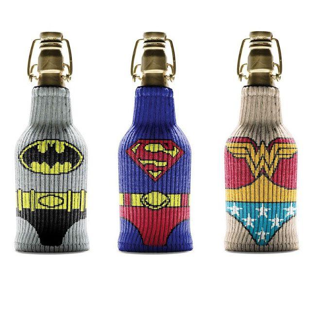 Internet das Coisas!!!: Justice League Bottle Sleeve Set