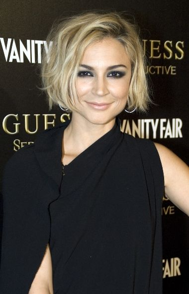 Samaire Armstrong - Guess Seductive Fragrance Launch - Hair by Ryan Richman