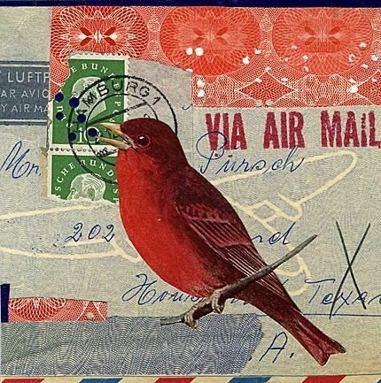 // Repin of the Day: #41 of 365 // Mail art. Repin. Info provided by poster: Collage by Angelica Paez. // Repin. // Found by @RandomMagicTour (https://twitter.com/randommagictour) - Sasha Soren - Book trailer: http://www.youtube.com/watch?v=ImIzIx4IeQQ - Browse (Kindle/print): http://www.amazon.com/Random-Magic-Sasha-Soren/dp/0979777410/ref=sr_1_1?ie=UTF8&qid=1328315192&sr=8-1