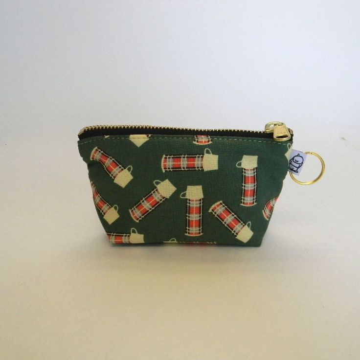 Charlie Change Purse/ Country Living Plaid Thermos