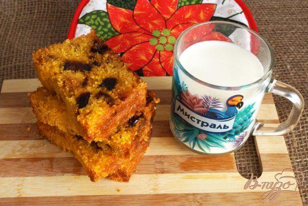 Кукурузный хлеб с финиками - пошаговый рецепт с фото