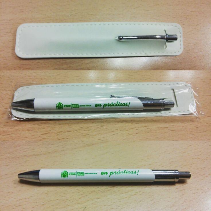Bolígrafos personalizados en tampografía