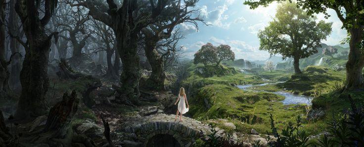 Beyond the forest (2015), Christian Dimitrov on ArtStation at https://www.artstation.com/artwork/kN88y