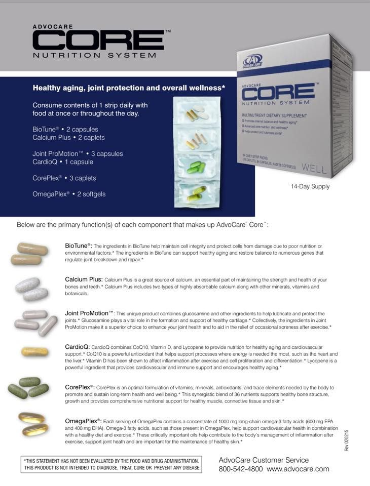 What's in Each of the Four AdvoCare Supplement Systems? MNS MAX 3, MNS MAX C, MNS MAX E, & ADVOCARE CORE #advocare4solution http://www.sparkyourgoals.com