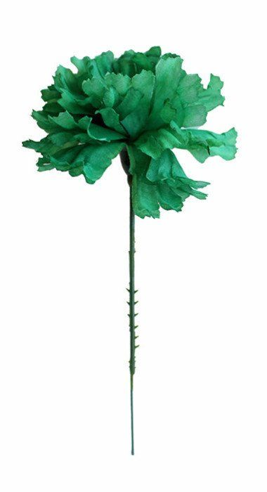 Craft Flowers Green Carnations | Silk Flowers Wholesale | Hassle Free Shipping – Afloral.com