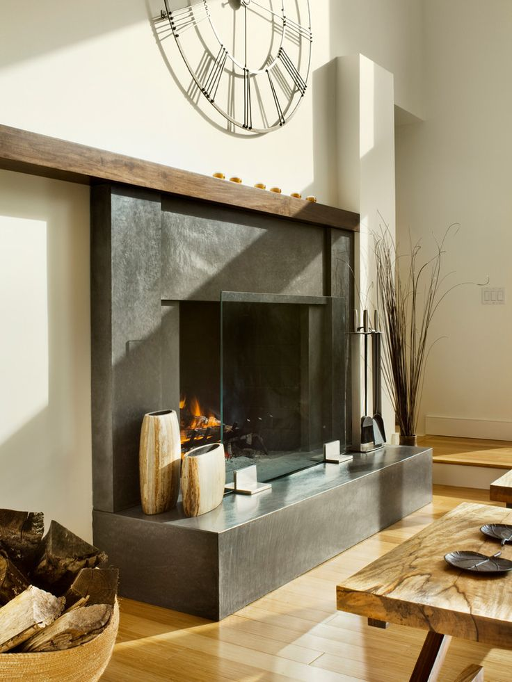 48 best fireplace materials images on pinterest mantles for Fireplace material options
