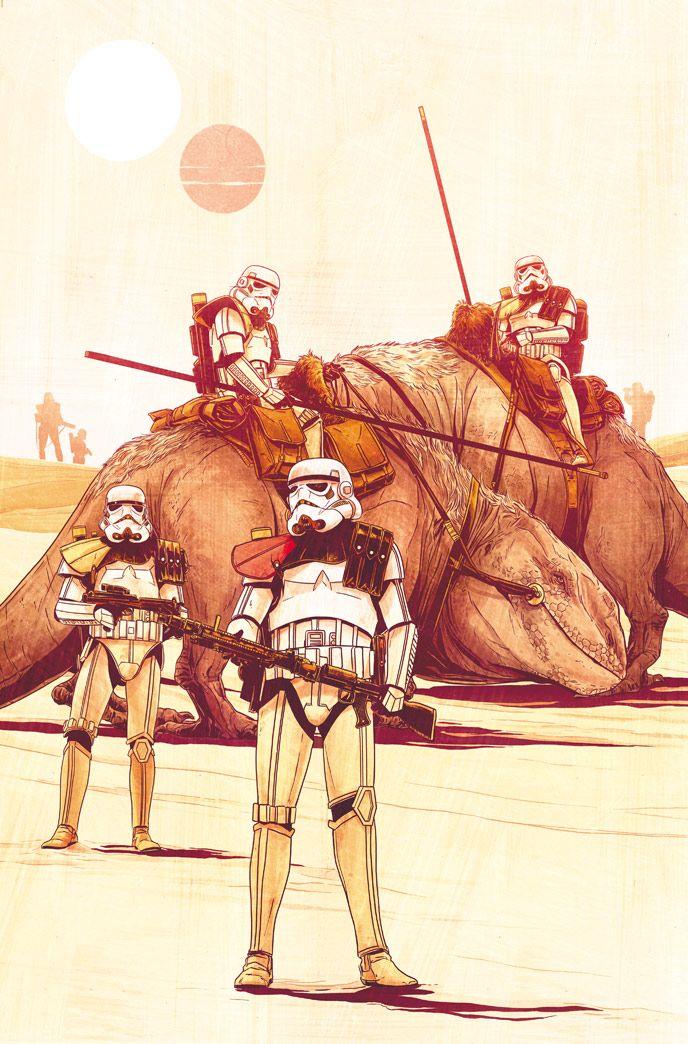 Superstar artist Stuart Immonen and more to honor the original Star Wars film!