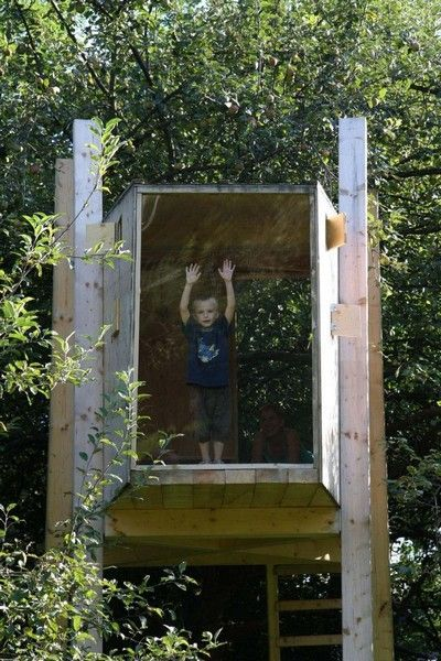 Like how I can see what is going on IN the tree house!