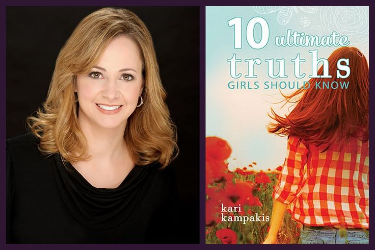 A review and giveaway of 10 Ultimate Truths Girls Should Know by Kari Kampakis. #10Truths