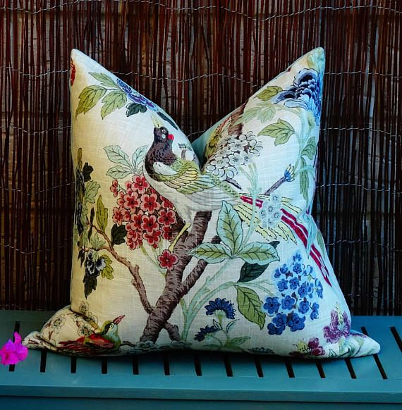 Check out this item in my Etsy shop https://www.etsy.com/au/listing/559692032/green-bird-print-floral-cushion-cover