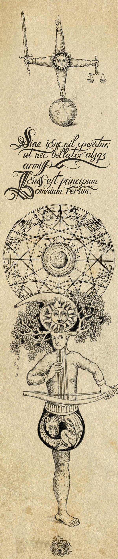 """The Alchemyst by Sveta Dorosheva, via Behance. """"Nada funciona sin el fuego... El fuego es el origen de todas las cosas"""""""
