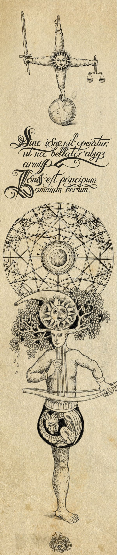 """Alchemy:  """"The #Alchemyst,"""" by Sveta Dorosheva, via Behance."""