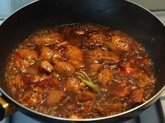 Indonesische gestoofde kip met ketjap