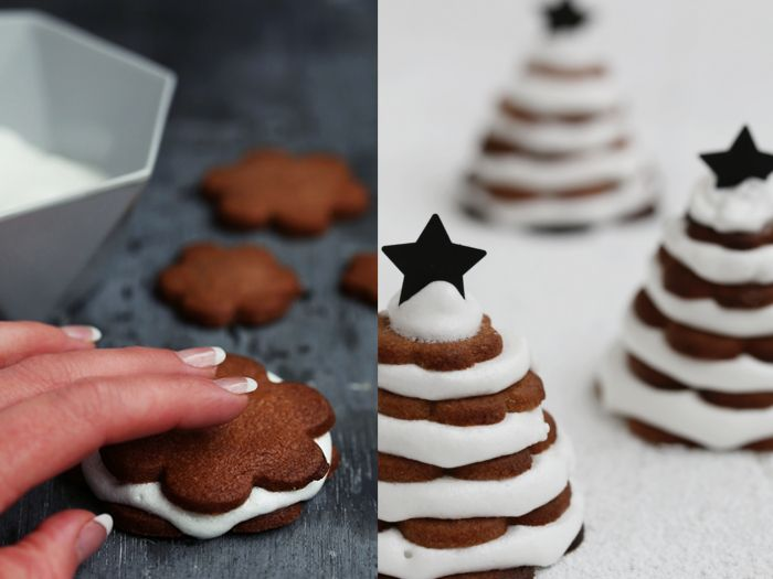 Vera von nicest things zeigt Dir in diesem DIY wie du köstliche und supersüße weihnachtliche Keksbäumchen backen kannst.