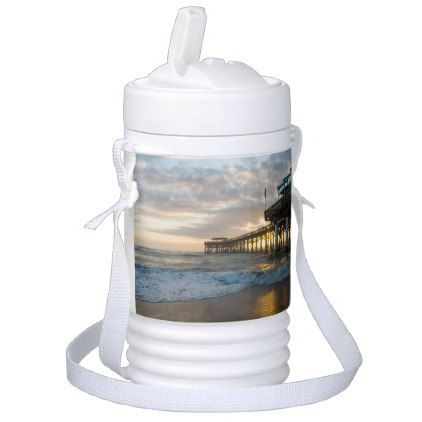 1st Sunrise 2017 Cocoa Beach Cooler - photography gifts diy custom unique special