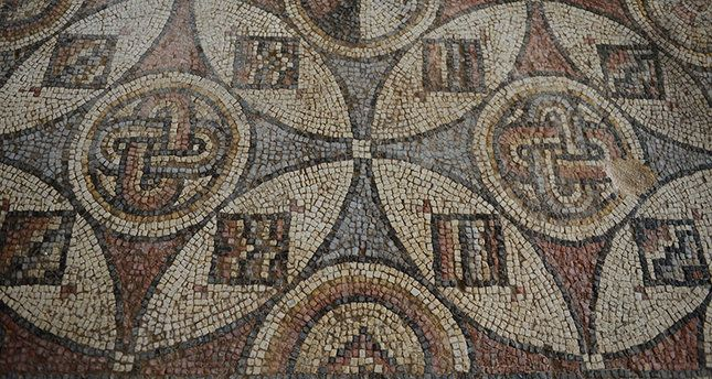 The Archaeology News Network: 1,600 year old Byzantine mosaics in southern Turke...