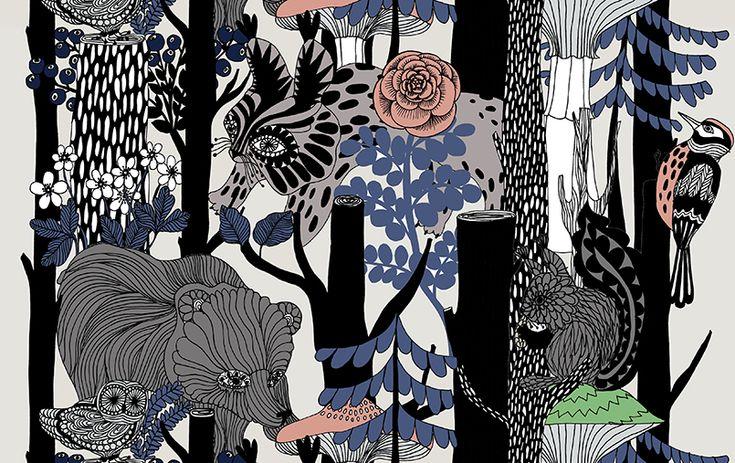 To celebrate the 100-year-old Finland, Marimekko will launch a pattern entitled Veljekset (brothers) created by Maija Louekari.