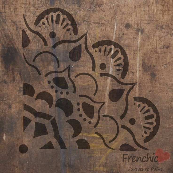 Stencil, Painting Stencils - Mandala stencil, chalk paint stencils, Frenchic, Shabby Chic, Painted furniture. by BirdcageBarn on Etsy https://www.etsy.com/uk/listing/530131234/stencil-painting-stencils-mandala
