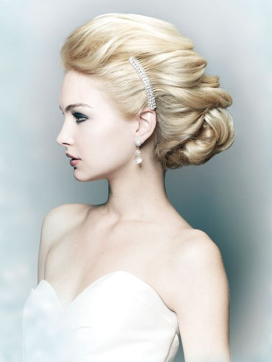 Beautiful Wedding Hairstyles  -pin it from carden