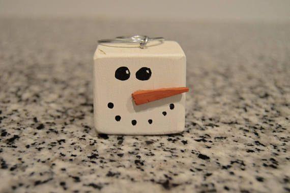 Snowman Christmas Ornament/Perfect Christmas Gift