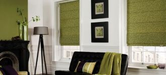 Roman Blinds by The Blind Professionals