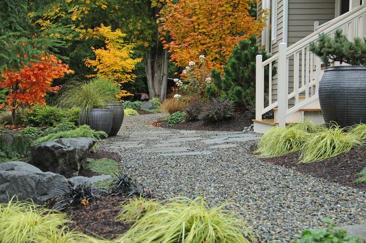 Yards - Front Yards Without Grass on Pinterest | Front Yards ...