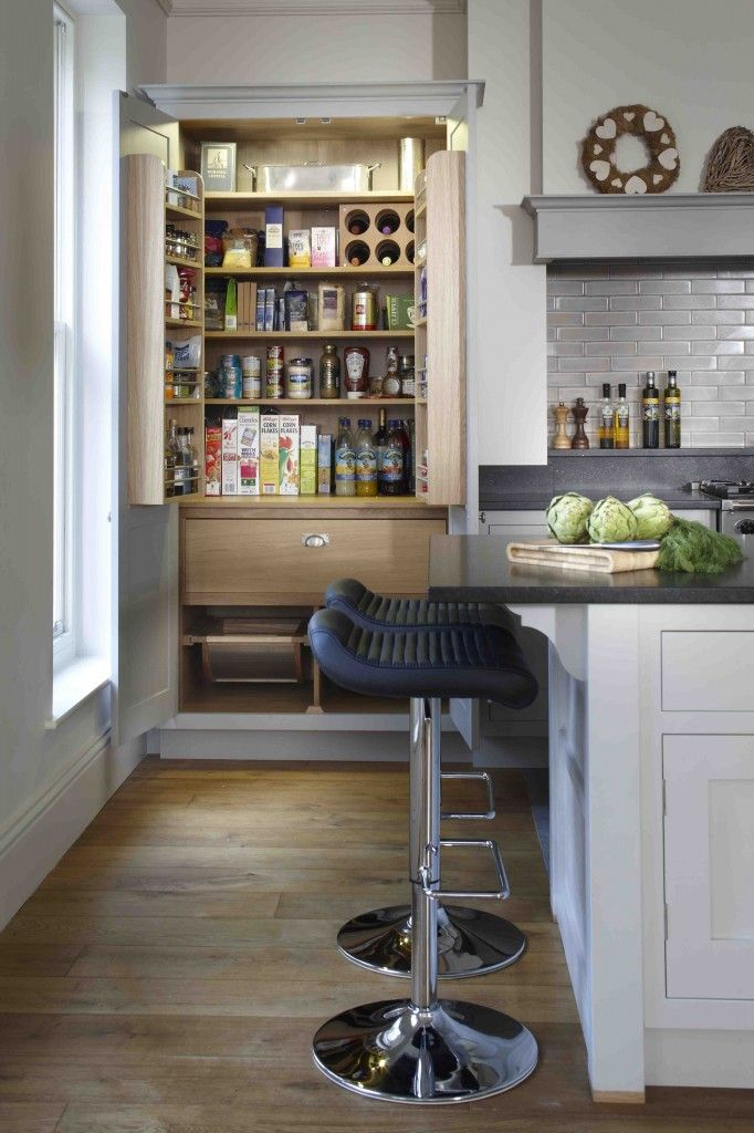As This Picture From Beautiful Kitchens Magazine Shows, Not Only Do Larder  Cupboards Give A