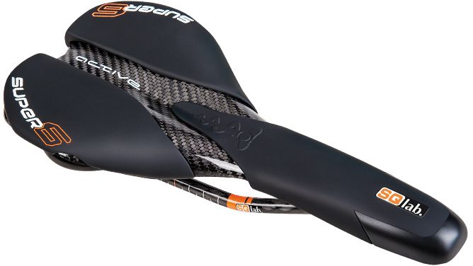 SQlab Super6.1 active Carbon saddle