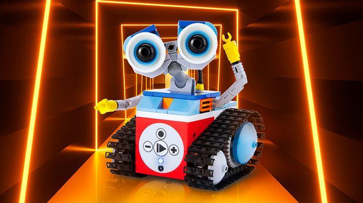 Mit dem My First Robot von Tinkerbots lernen Kinder ab 5 programmieren. Mit dem süßen Roobter und der Spiele App aus verschiedenen Level macht Coden viel Spaß.