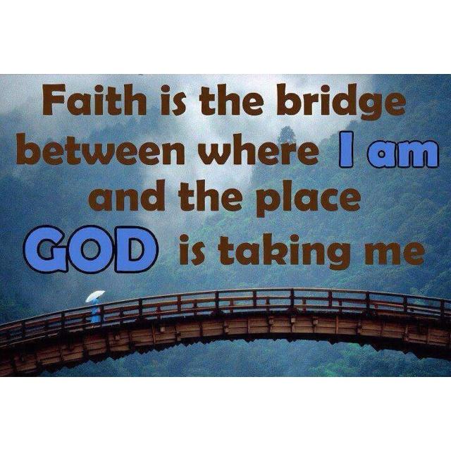 Faith, Faith, Faith!!