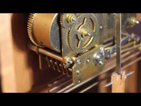 Howard Miller Mechanical Clock Repair - YouTube