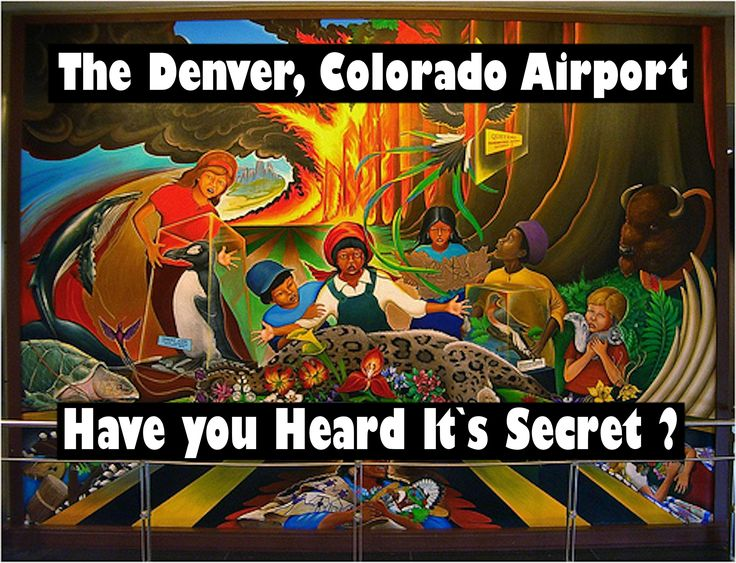 17 best images about denver airport on pinterest for Denver mural conspiracy