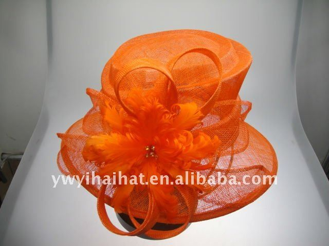 Hottest beautiful fashion ladies church hat $1.9~$2.9