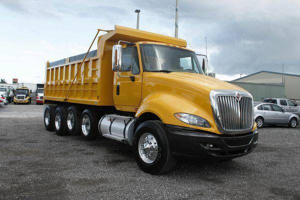 2011 International ProStar Premium Quad Axle Dump Truck For Sale (305)930-6374 ( E.R. Truck)